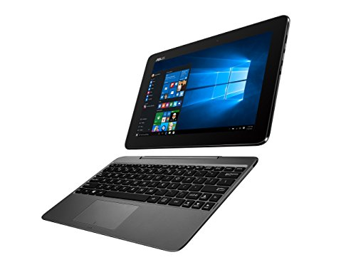 【Amazon.co.jp 限定】 ASUS ノートブック TransBook T100HA ( WIN10 Home 64Bit / インテル Atom x5-Z8500 / 10.1インチワイド / 4G / 64G / グレー / office mobile ) T100HA-FU029T