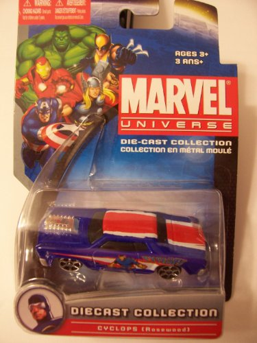 Marvel Universe Die-Cast Collection ~ Cyclops (Rosewood)ミニカー モデルカー ダイキャスト 【並行輸入】